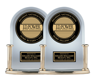 J.D. Power Announces Keller Williams Realty Ranks Highest In Overall Satisfaction For Home Buyers and Home Sellers Among National Full Service Real Estate Firms
