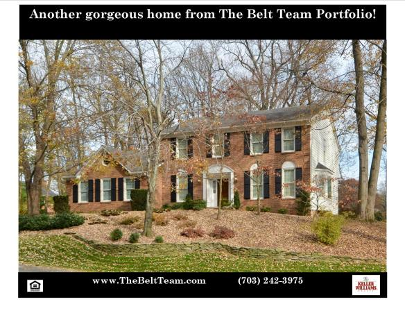 Home For Sale on Clarks Glen Place Vienna VA