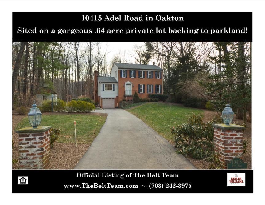 Oakton Real Estate For Sale