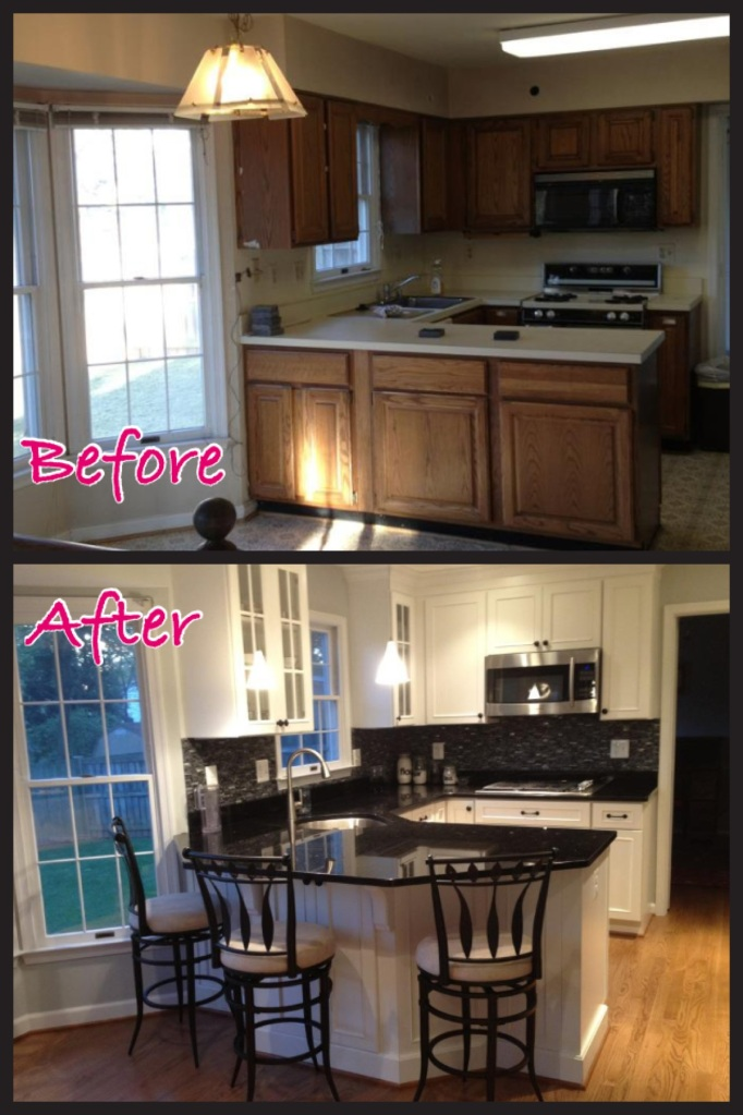 Kitchen renovated by Dominion Associates Inc in Vienna VA