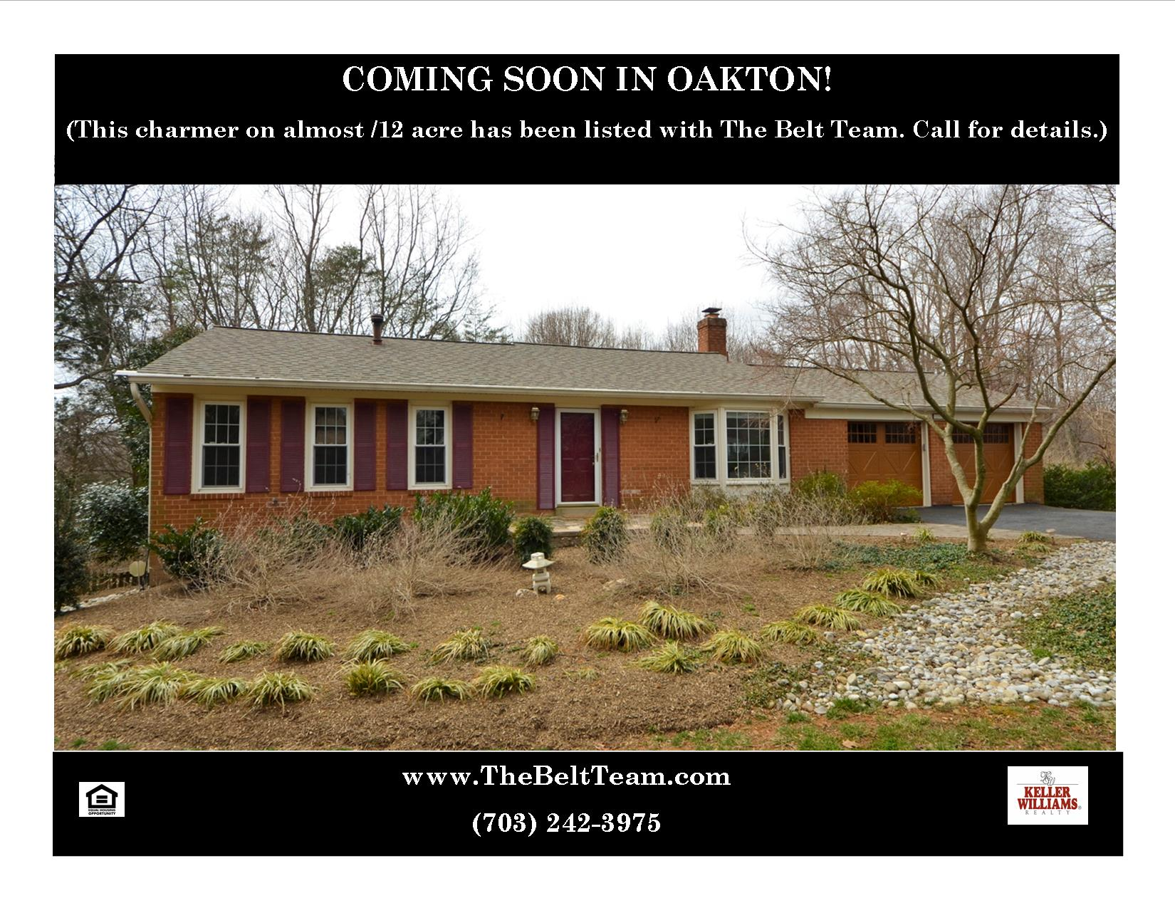 Adel Road Oakton Va Northern Virginia Real Estate Blog
