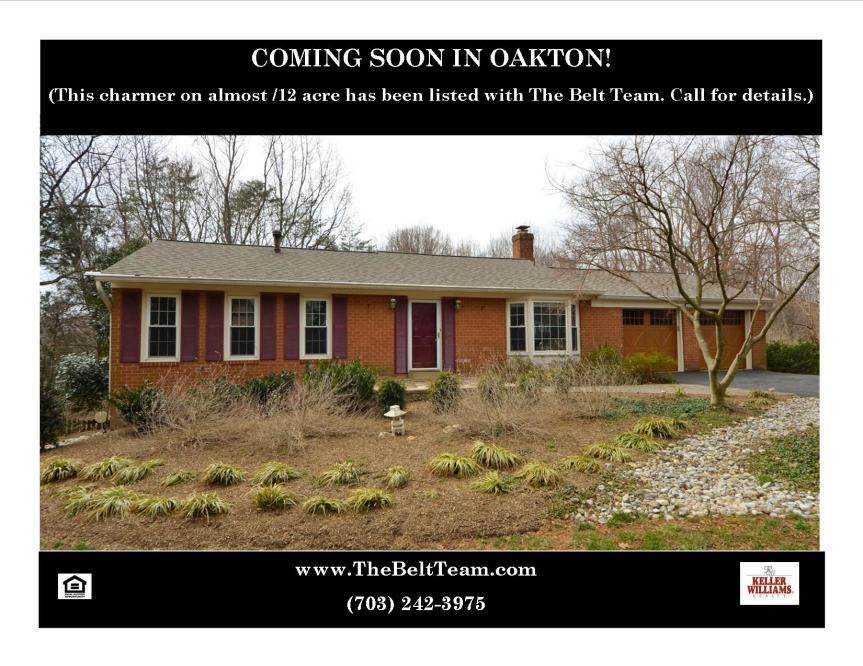 Homes For Sale Oakton VA