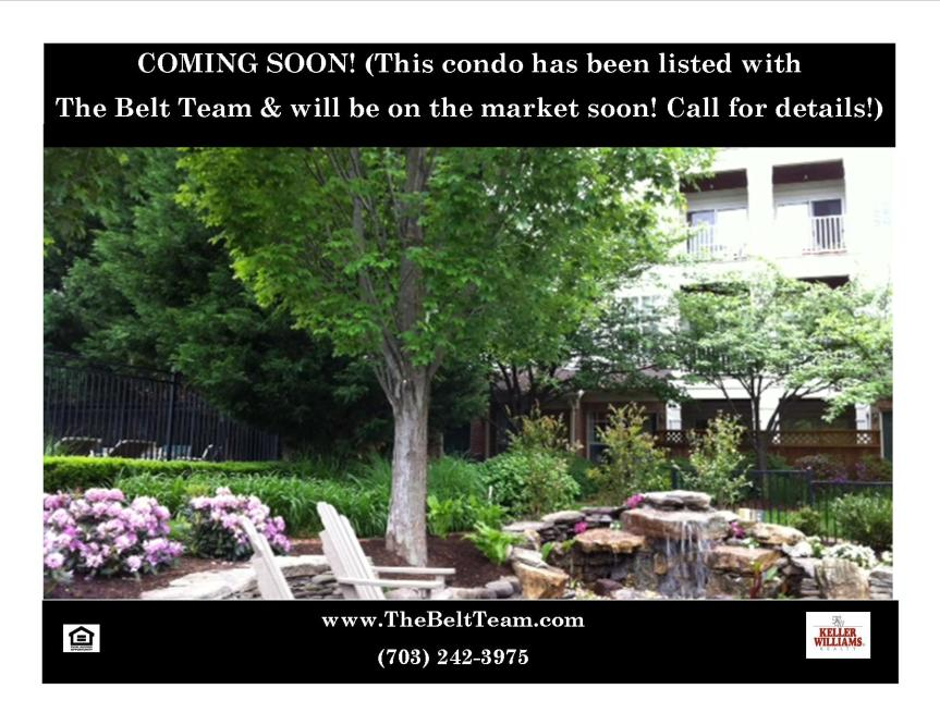 New Listing Coming Soon Condo in Alexandria VA