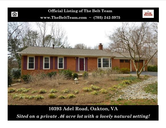 New Listings & Open Houses - Vienna, Oakton, Leesburg & Falls Church
