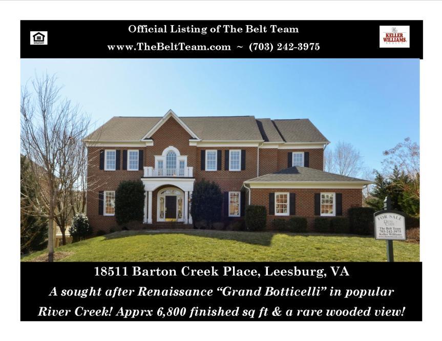 Leesburg Real Estate River Creek