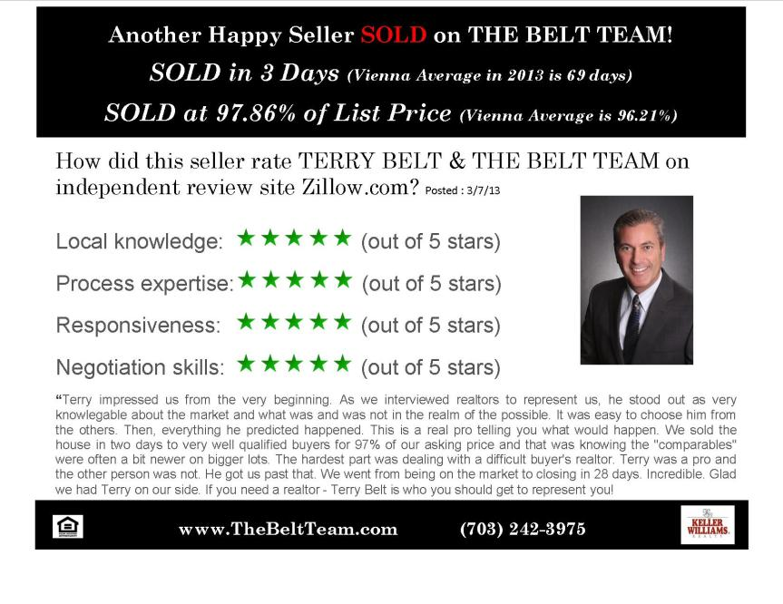 Real Estate Review Terry Belt and The Belt Team