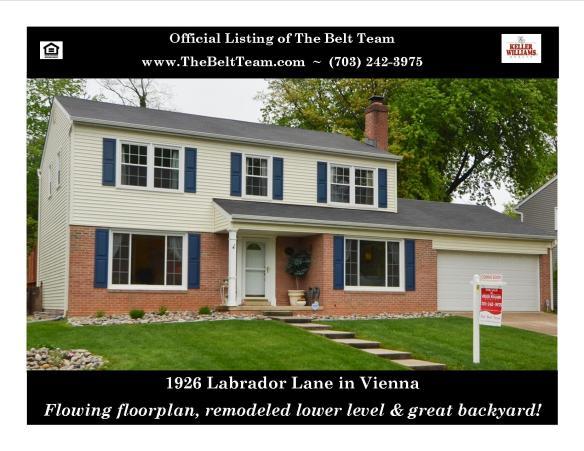 Vienna Home For Sale Labrador Lane
