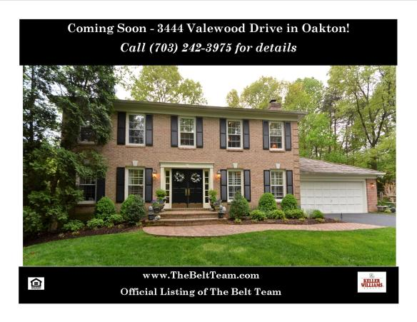 Home For Sale in Oakton on Valewood