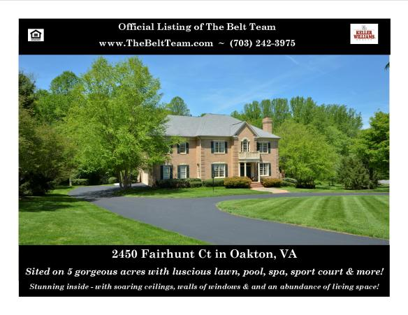 Oakton Home With Pool