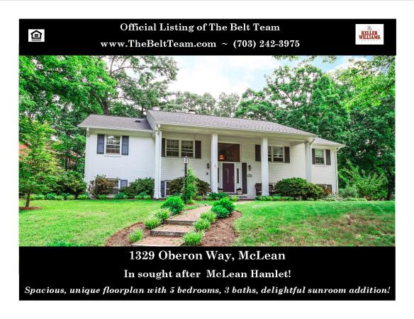McLean Hamlet Home For Sale