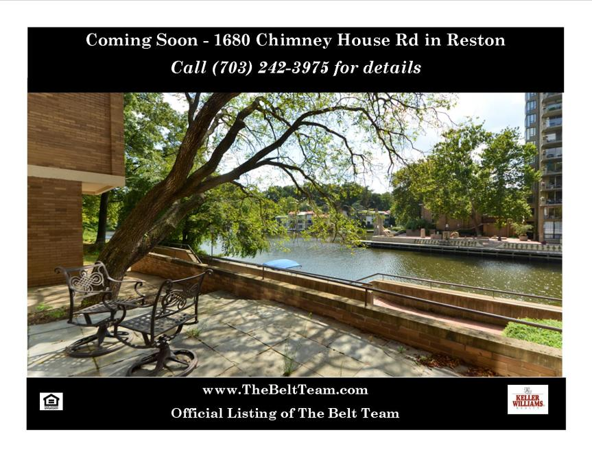 Lake Anne Reston Home For Sale