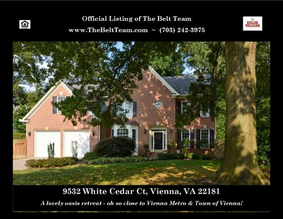Just Listed - Near Vienna Metro & Nottoway Park!