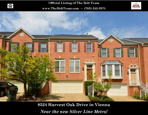 Townhome Near Silver Line Metro in Vienna - Open Sunday, Nov 24th