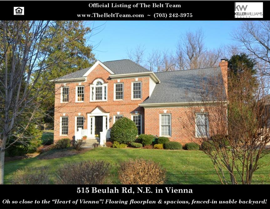 Custom Home For Sale Vienna VA