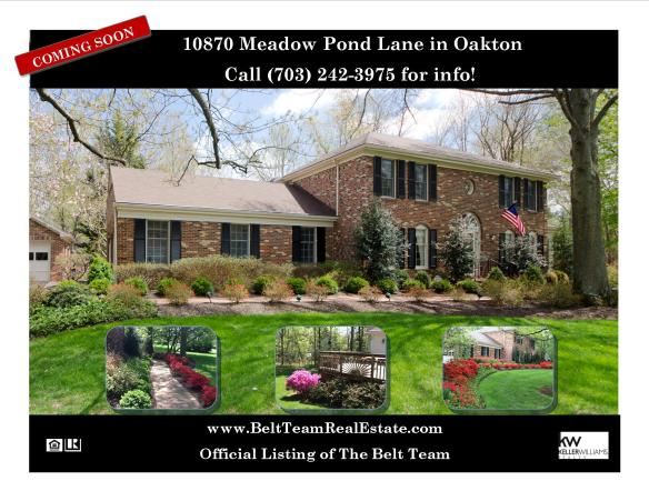 Oakton Home For Sale
