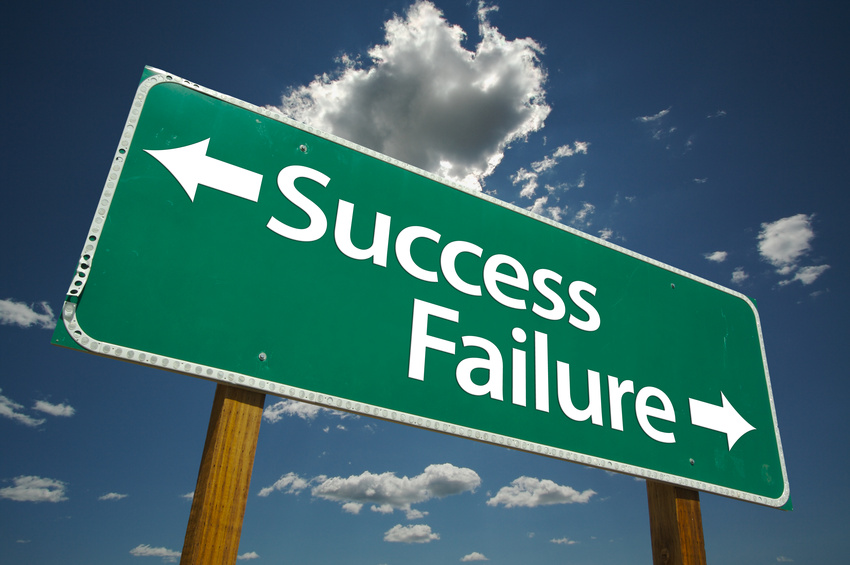 Success or Failure in real Estate