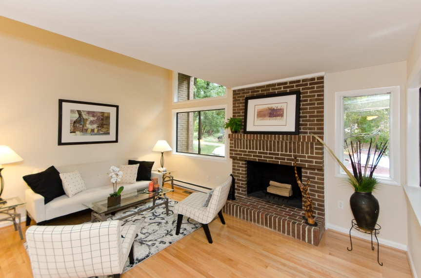 Reston Townhouse For Sale Overlooking Golf Course
