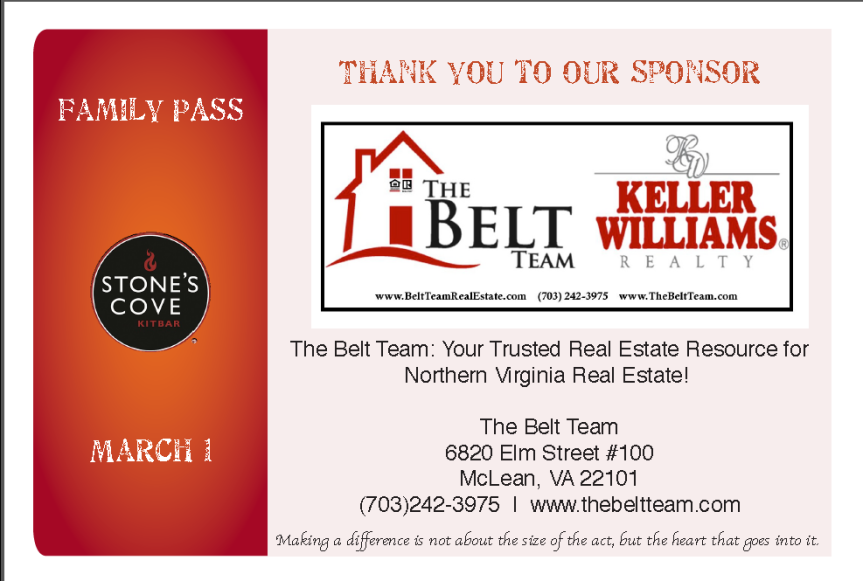The Belt Team Sponsors Family Pass 2015